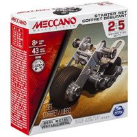 Meccano: 1 Model Starter Set - Motorcycle
