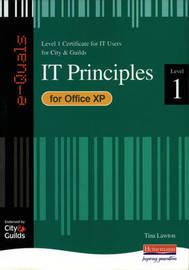 e-Quals Level 1 Office XP: IT Principles by Tina Lawton image