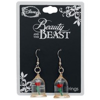 Neon Tuesday: Beauty & The Beast - Enchanted Rose Earrings image
