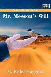 Mr. Meeson's Will by H.Rider Haggard image