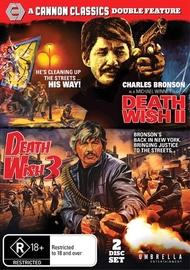 Death Wish 2 & 3 on DVD
