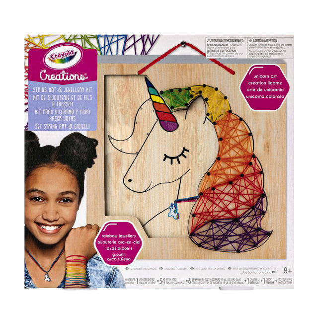 Crayola: Creations - String Art & Jewellery Kit