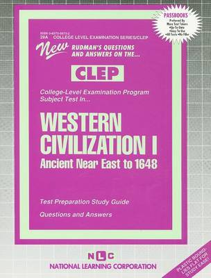 Western Civilization I: Ancient Near East to 1648 image