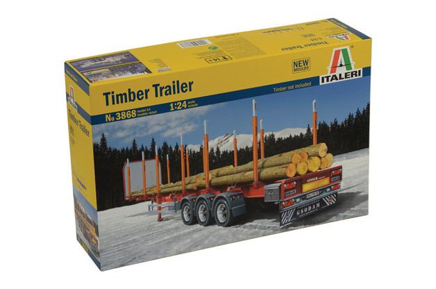 Italeri Timber Trailer - 1:24 Model Kit