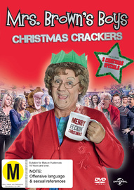 Mrs. Brown's Boys - Christmas Crackers (3 Specials) DVD