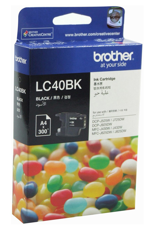 Brother LC-40BK Ink Cartridge (Black)
