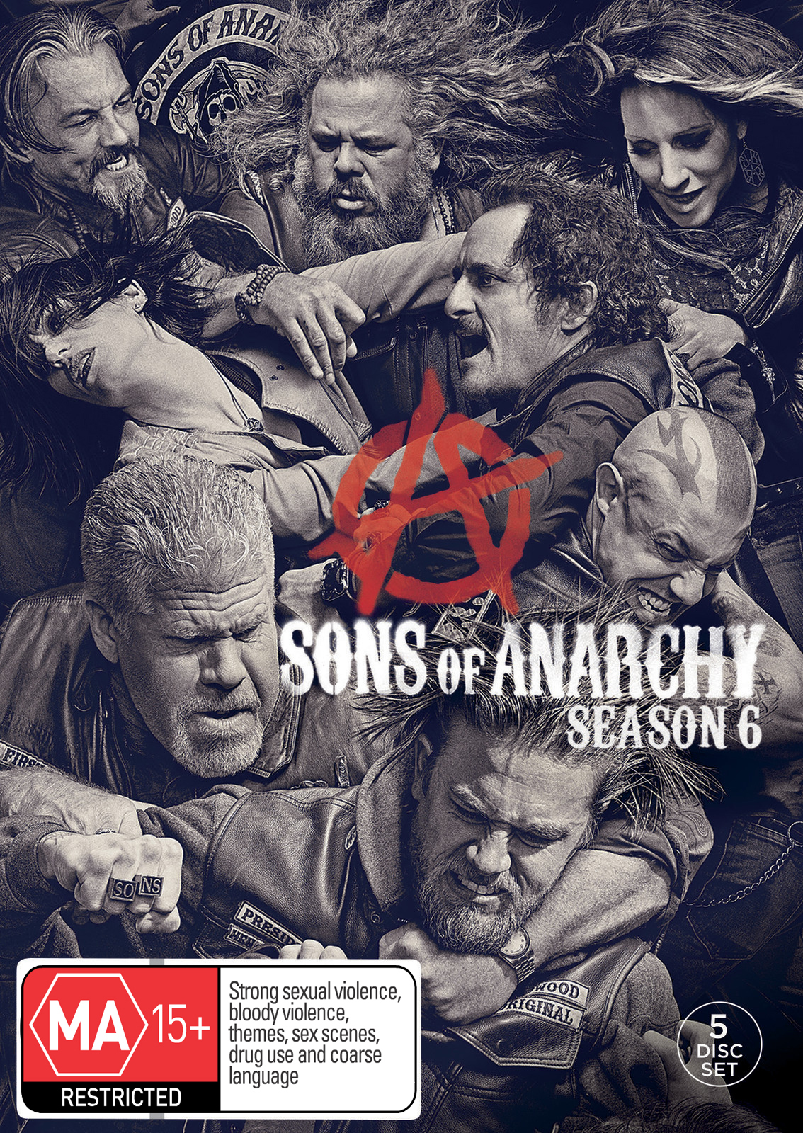Sons of Anarchy - Season 6 on DVD image