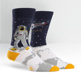 Mens - One Giant Leap Crew Socks