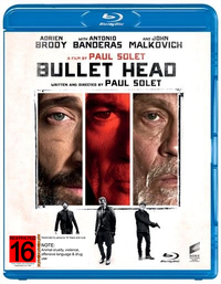 Bullet Head on Blu-ray