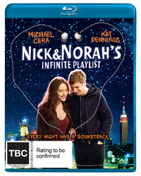 Nick & Norah's Infinite Playlist on Blu-ray