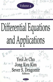 Differential Equations & Applications, Volume 4 by Yeol Je Cho image