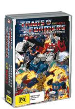 Transformers - Super God Masterforce (5 Disc Box Set) on DVD