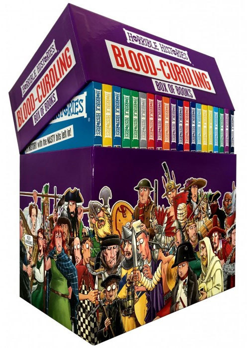 Horrible Histories Blood-Curdling Box of Books Special Edition