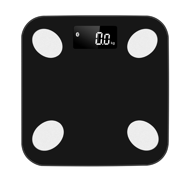 Smart Electronic Body Scale - Black