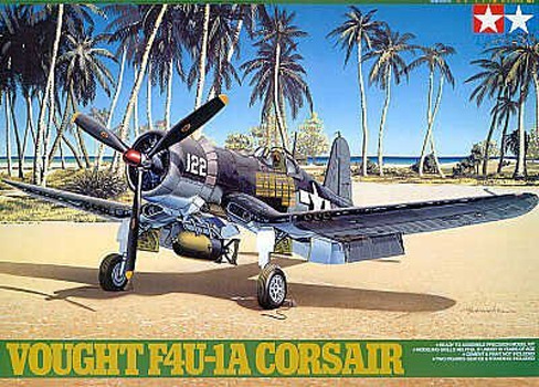 Tamiya U.S. Vought F4U-1A Corsair 1/48 Aircraft Model Kit