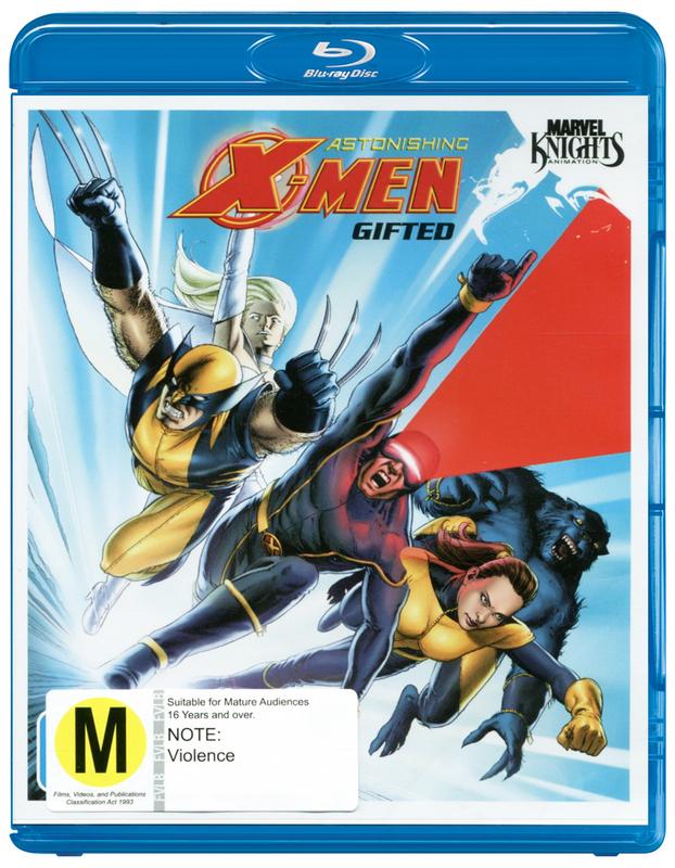 Marvel Knights -  Astonishing X-Men: Gifted on Blu-ray