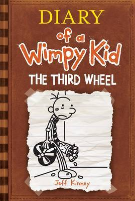 Third wheel jeff kinney book in stock buy now at mighty ape nz diary of a wimpy kid the third wheel book 7 by jeff kinney solutioingenieria Images