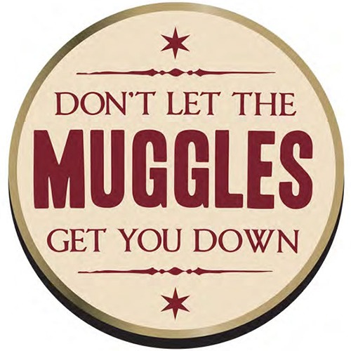 Harry Potter Muggles Badge image