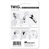 TWIG Cord Wrap - Black