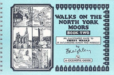 Walks on the North York Moors - Book 2 by Jack Keighley image