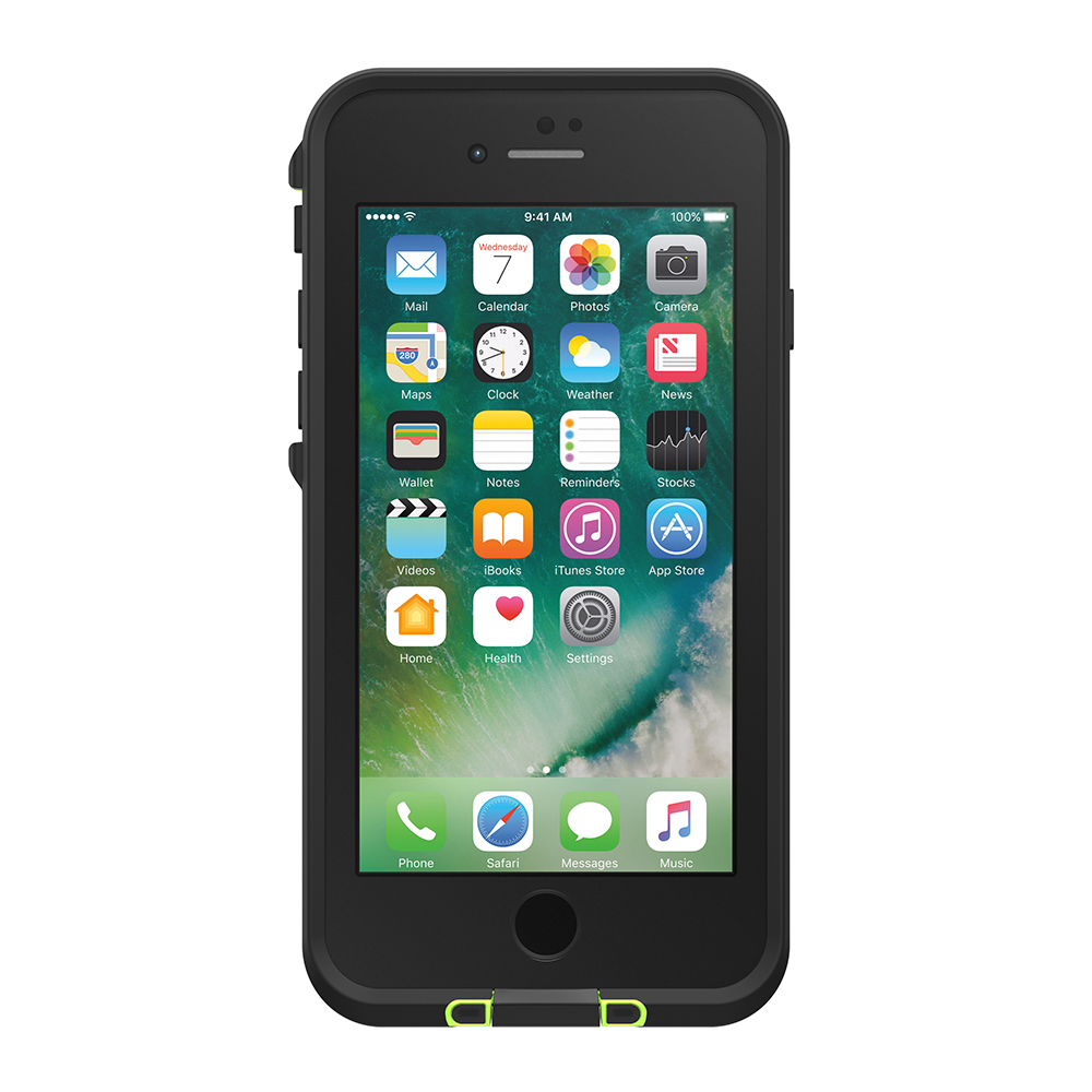 LifeProof Fre Case for iPhone 7/8 - Black Lime image