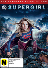 Supergirl: Season 3 on DVD