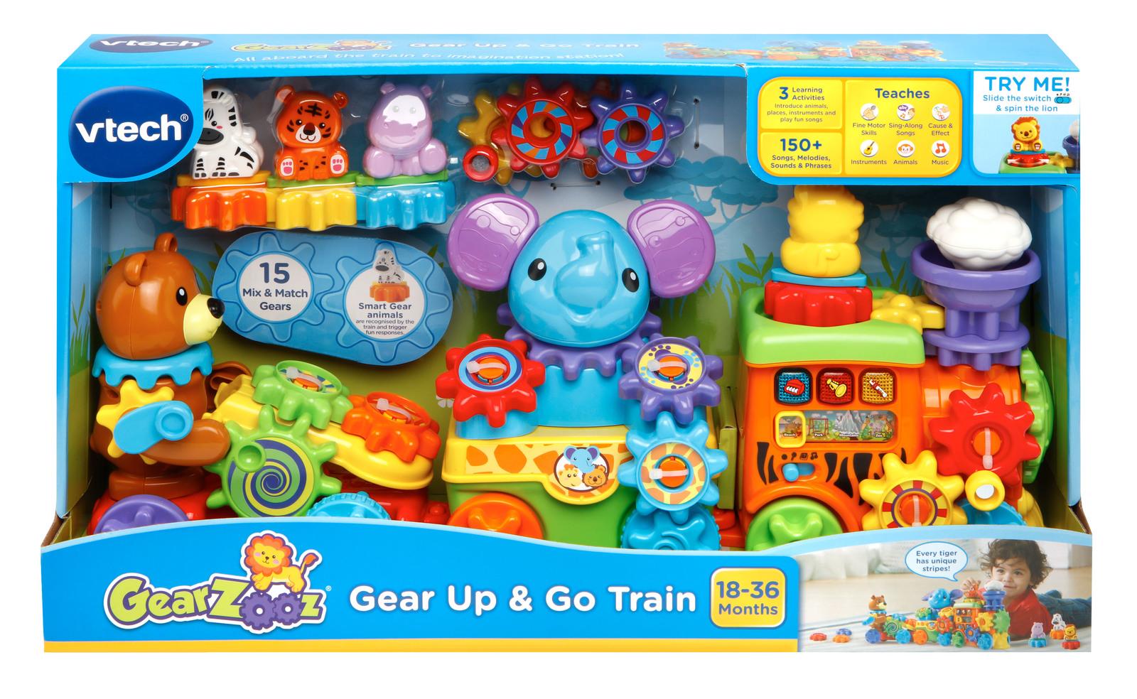 Vtech: Gearzooz - Gear Up & Go Train image