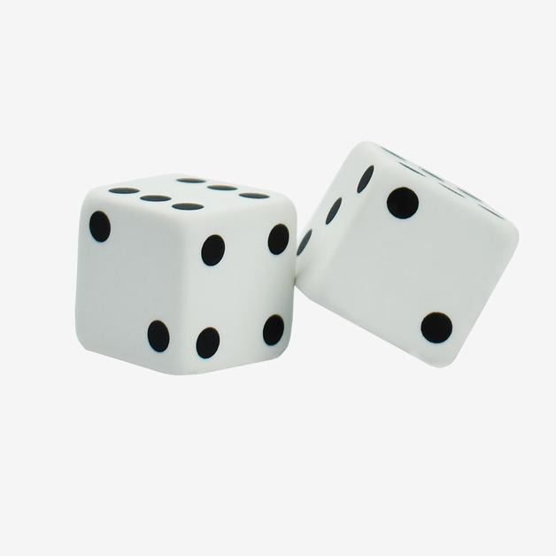 Legami: Dice Eraser Set (2 Pack)