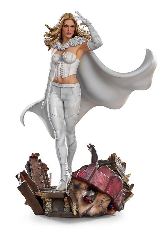 X-Men: Emma Frost - Battle Diorama Statue