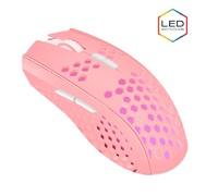 Gorilla Gaming HEX RGB Mouse (Pink) for PC