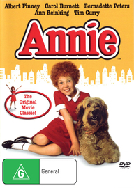 Annie on DVD image