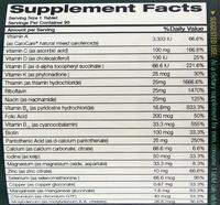 Optimum Nutrition Opti-Men Multivitamin (90 Tabs)
