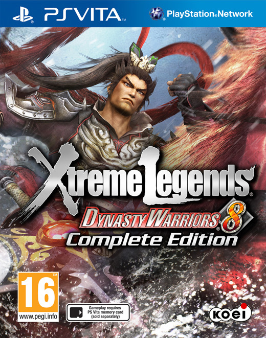 Dynasty Warriors 8: Xtreme Legends Complete Edition for PlayStation Vita
