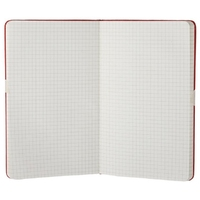 Moleskine Squared Notebook (Large, Hard, Red) by Moleskine