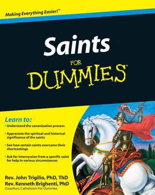 Saints For Dummies by John Trigilio