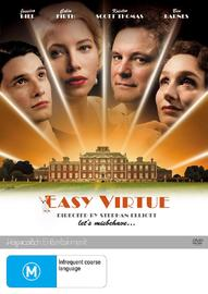 Easy Virtue on DVD