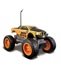 Maisto Rock Crawler Junior 4WD R/C Vehicle - Orange