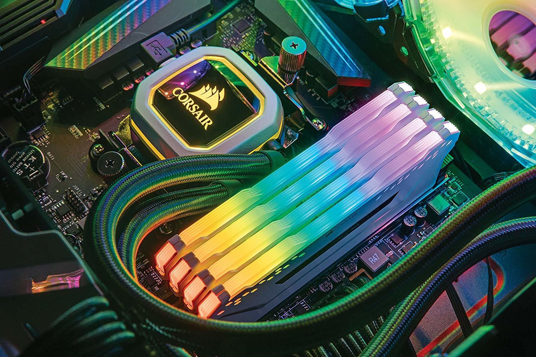 16GB (2 x 8GB) Corsair Vengeance DIMM DDR4, 3000MHZ image