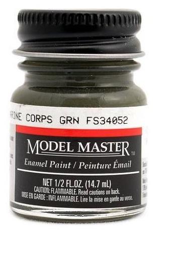 Testors: Enamel Paint - Marine Corps Green (Flat) image