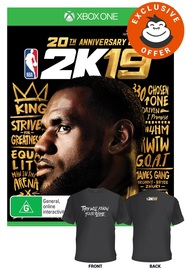 NBA 2K19 Anniversary Edition for Xbox One