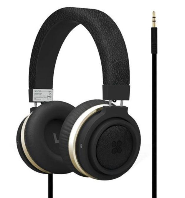 51e3b50b1e4 Promate Boom Over-Ear Ergonomic Wired Headphones - Black | at ...