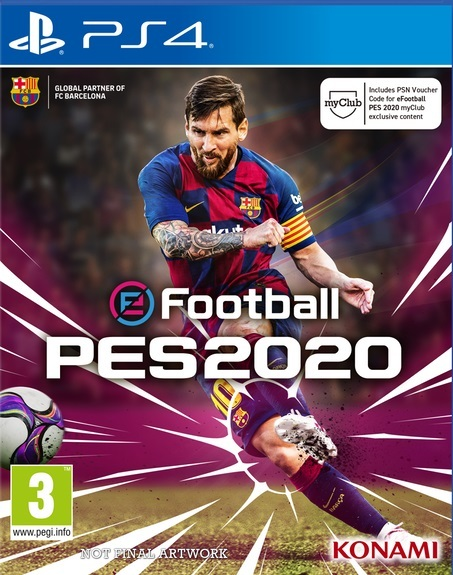 eFootball PES 2020 for PS4 image