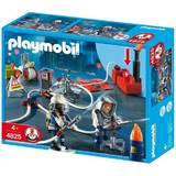 Playmobil: Firefighters with Water Pump (Age 4+)