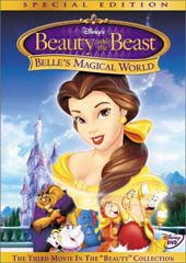 Beauty And The Beast - Belle's Magical World on DVD
