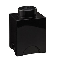 LEGO Storage Brick 1 (Black)