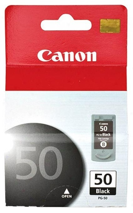 Canon Ink Cartridge Fine (High Yield) PG-50 Black