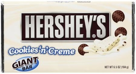 Hershey's Bar Giant Cookies & Creme 184g image