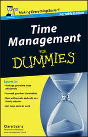 Time Management For Dummies - UK by Clare Evans