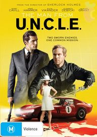 The Man From U.N.C.L.E on DVD image