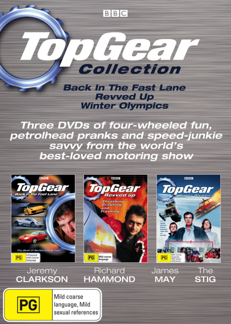Top Gear Collection (3 Disc Set) on DVD image